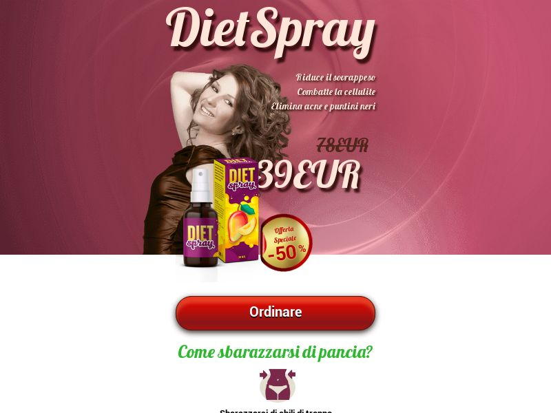 Diet Spray IT - weight loss treatment