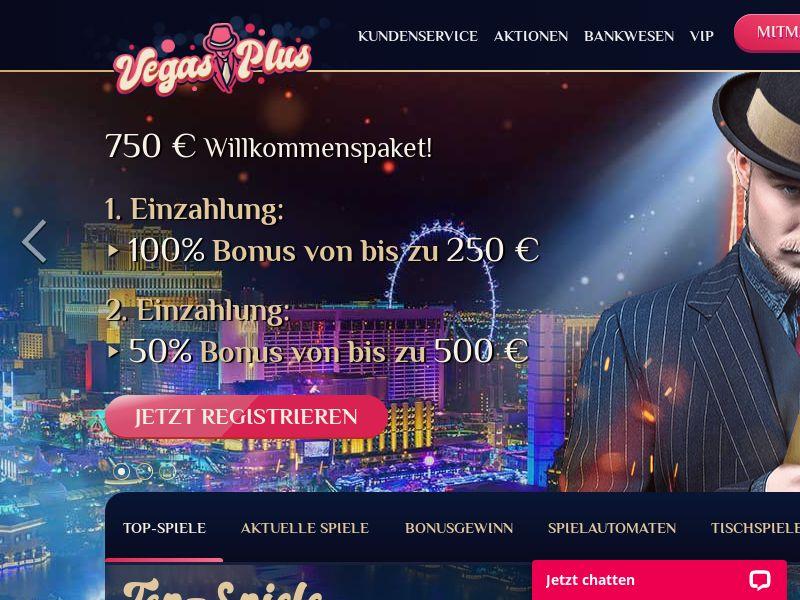 Vegasplus casino - CPA - DE/AT/CH [AT,CH,DE]