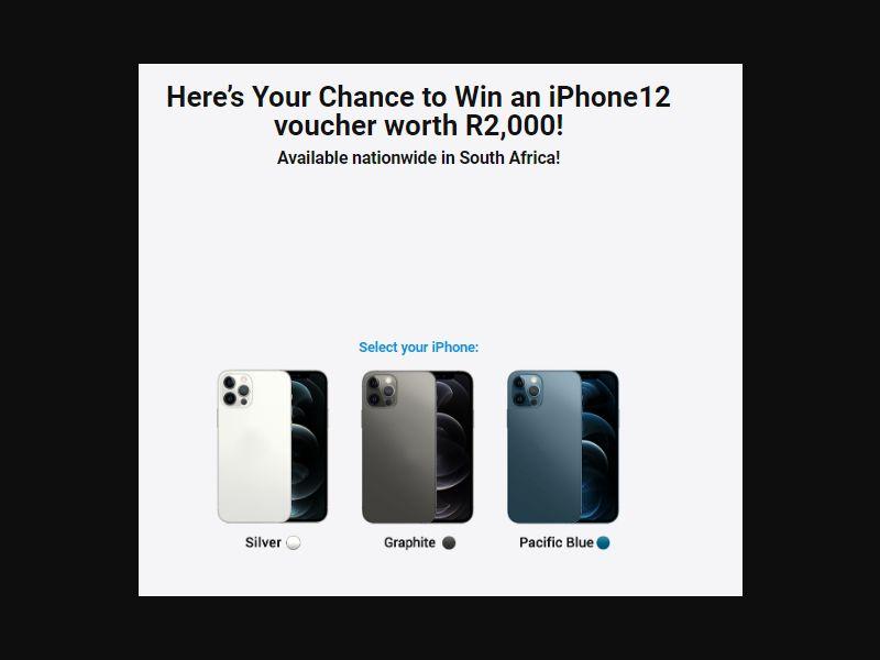 ZA - Win iPhone 12 Pro [ZA] - SOI registration