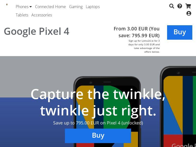 Google Pixel 4 - IE