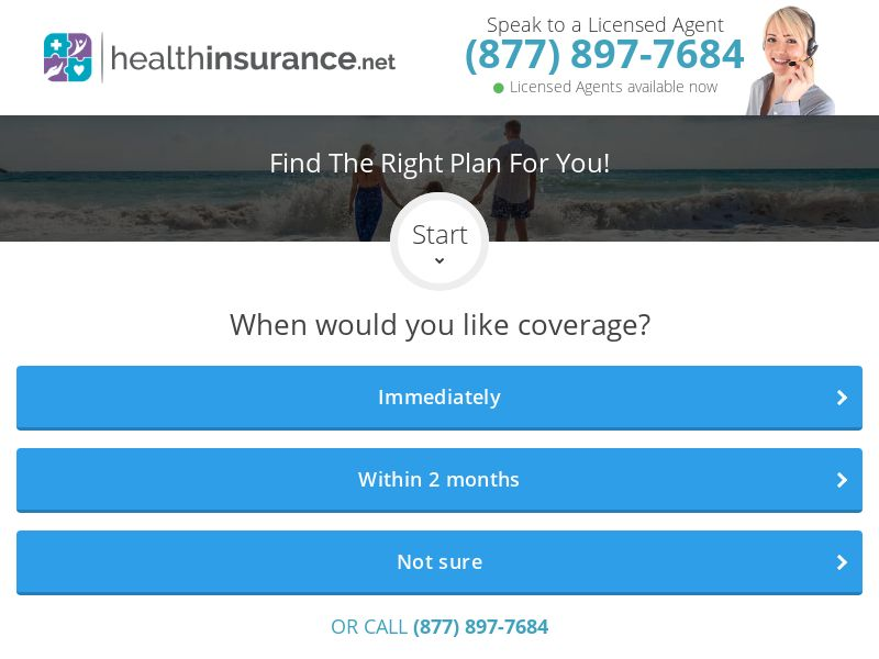 HealthInsurance.net U65 | Leads | US (Experience required)