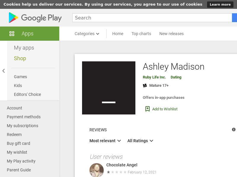 [MOB] Ashley Madison App / CPI / iOS / Direct / Dating