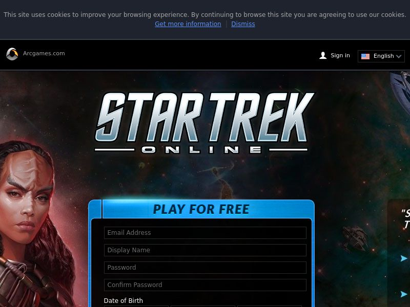 Star Trek Online - Incent - US/CA/AU/NZ/UK