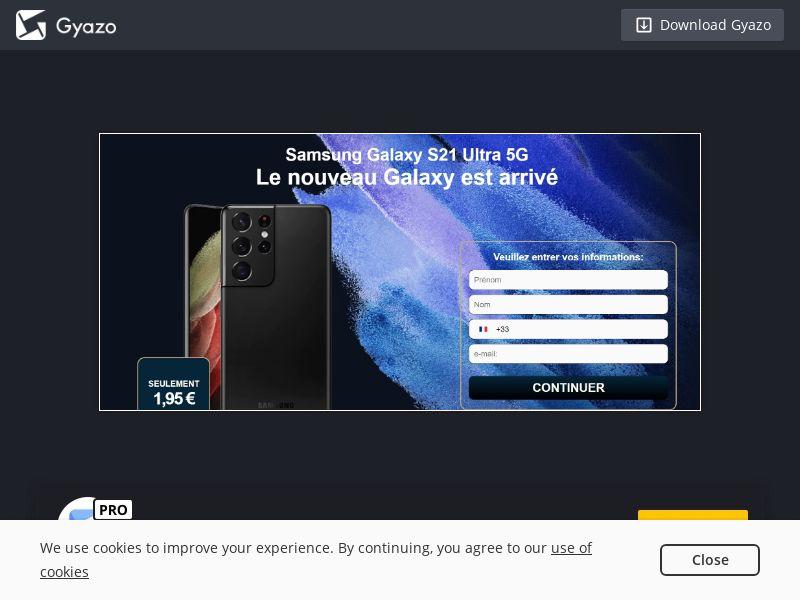 Samsung S21 Ultra FR | CC Sub