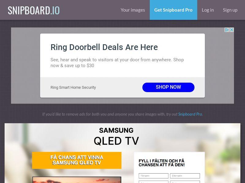 BigEntry - Samsung QLED TV v1 SE - CC Submit