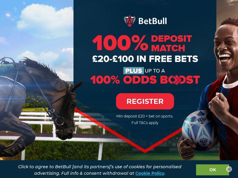 BetBull Sportsbook CPA [UK]