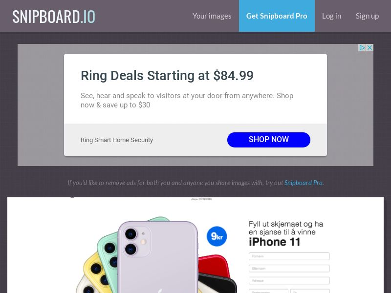 BigEntry - iPhone 11 v1 NO - CC Submit