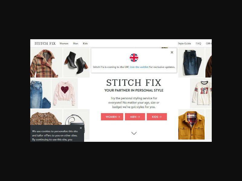 Stitch Fix - Personal Styling Service - US