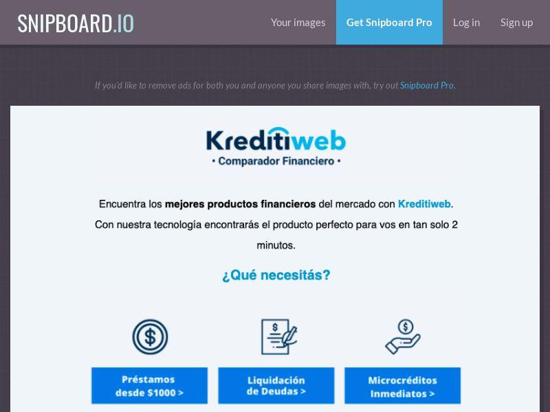 37634 - AR - Finance - Kreditiweb - SOI (open cap)