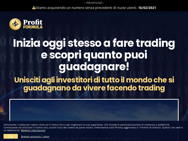 Profit Formula IT (IT), [CPA], Business, Investment platforms, Forex, Deposit Payment, bitcoin, cryptocurrency, finance, money