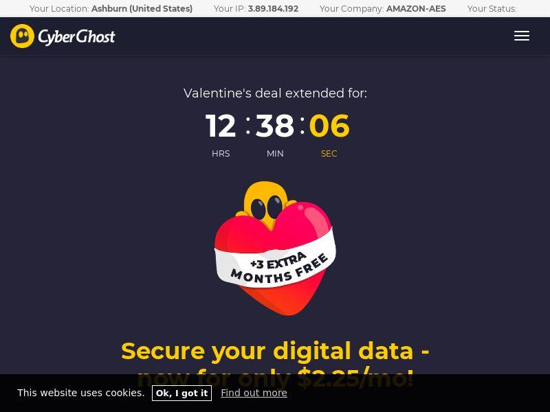 CyberGhost VPN WW CPA