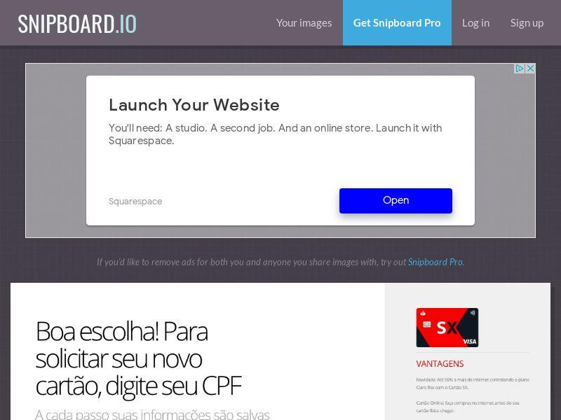 Finance - Banco Santander - CARTOES SX (LP1) BR - SOI