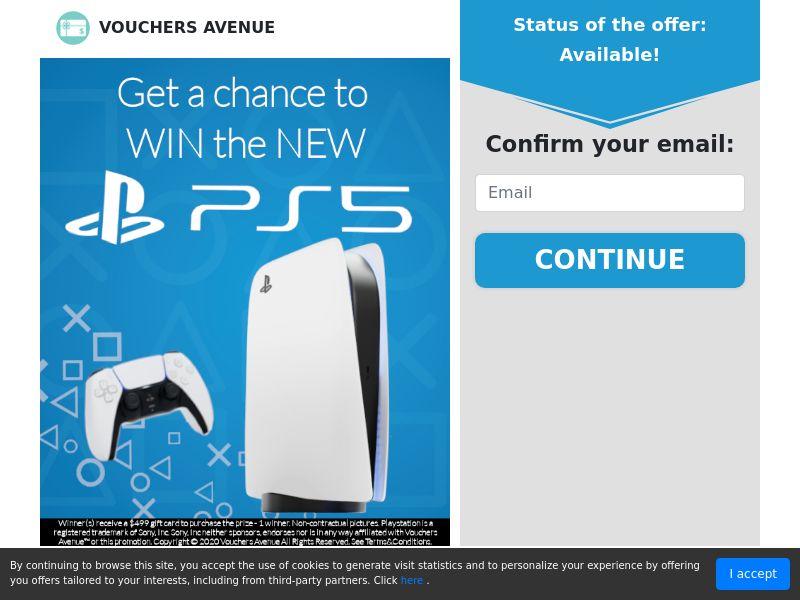 US - Vouchers Avenue - New PS5