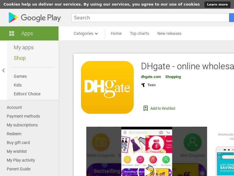 DHgate - Android - US- CPO