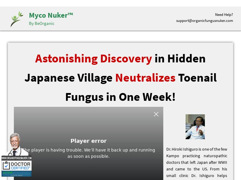 Organic Fungus Nuker (ALL) (CPS) (Personal Approval)