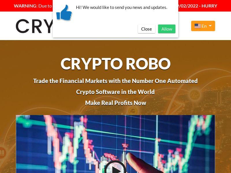 Crypto Robo Pro English 864