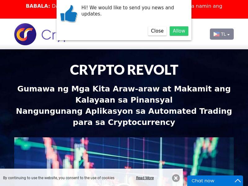 Crypto Revolt Filipino 2141