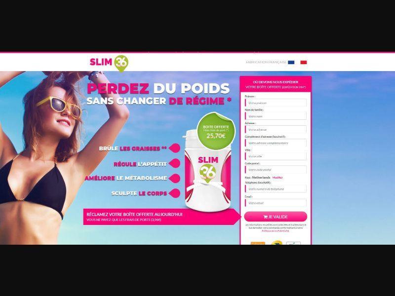 Slim 36 - Diet & Weight Loss - Trial - [FR]