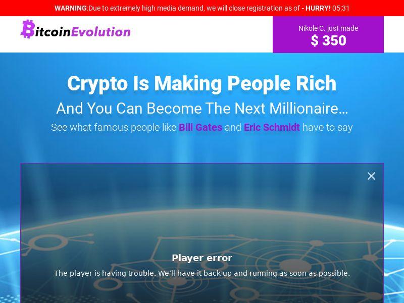 Bitcoinevolutionapp CPA EN [integ]