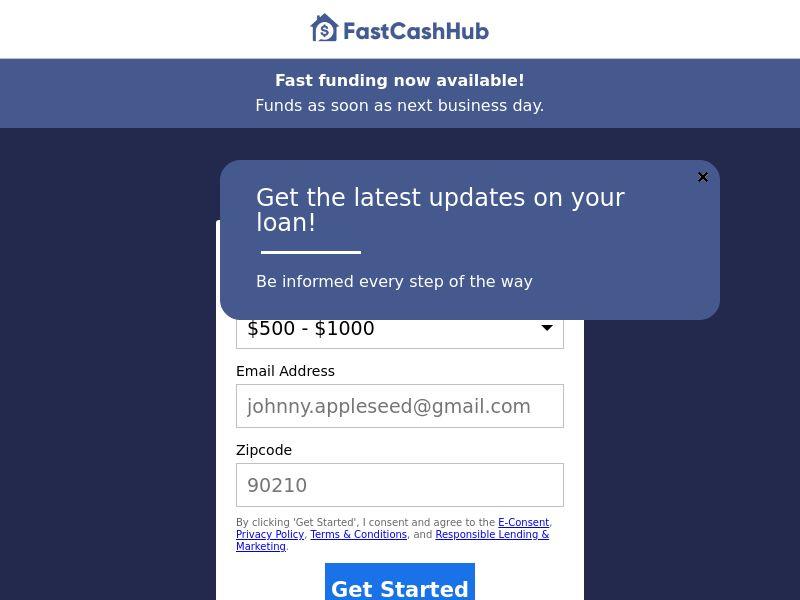 FastCashHub (US) (CPL) (Personal Approval)