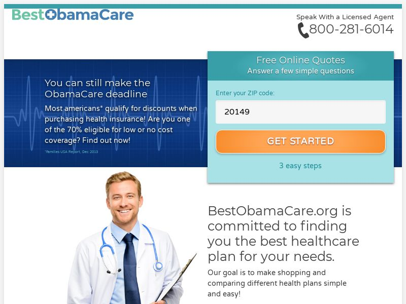 Best Obama Care [US] (Email,Native,PPC) - CPL