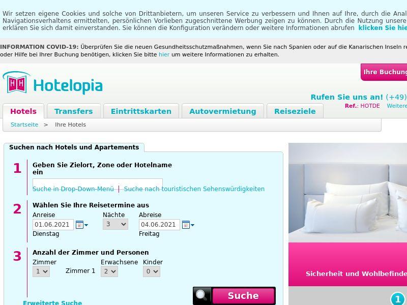 Hotelopia - DE (DE), [CPS]