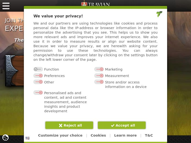 Travian - LT (LT), [CPA], Entertainment, Games, Browser games, game