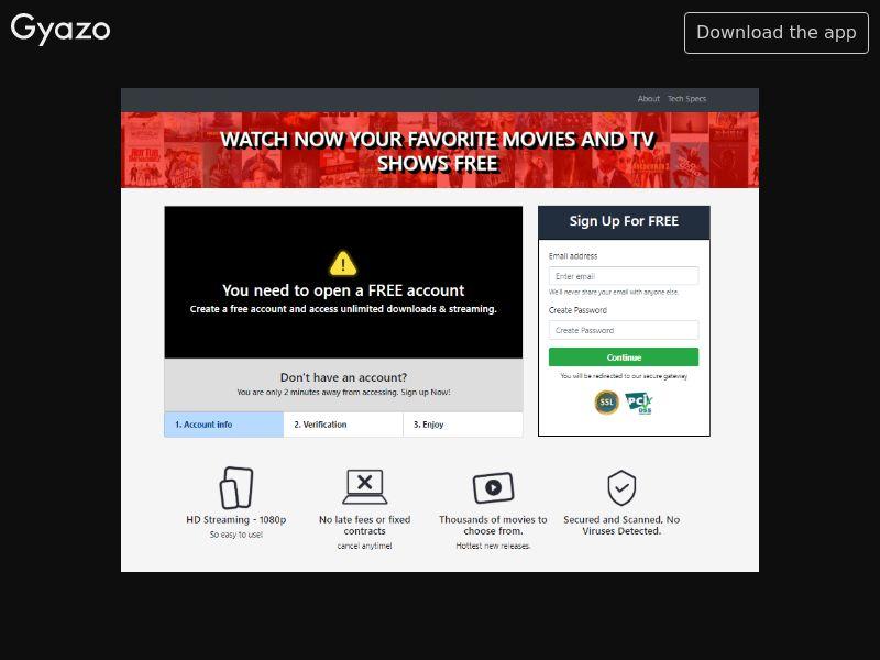 WatchTvDeal - VOD (AT, CH, DE, DK, NO, SE, CL, IS, JP, ES, AE, FI, KW, OM, QA, SA, IT, PT, UY, EC, FR, BE, NZ, BG, MD, SG, CO, JO, MX, PA, BR, EE, AU, CA, GB, US)