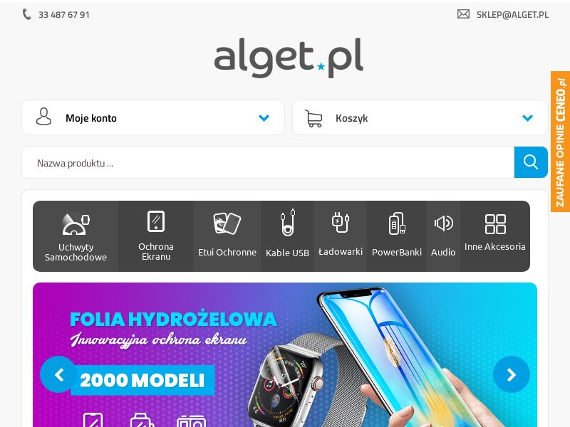 Alget (PL), [CPS], Appliances and Electronics, Telephones and accessories, Sell, shop, gift
