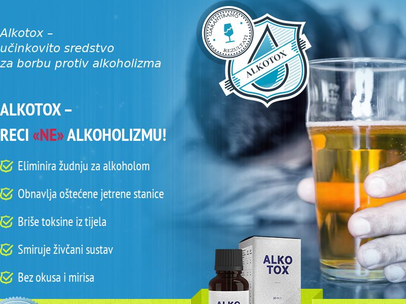 ALKOTOX HR - alcoholism treatment product