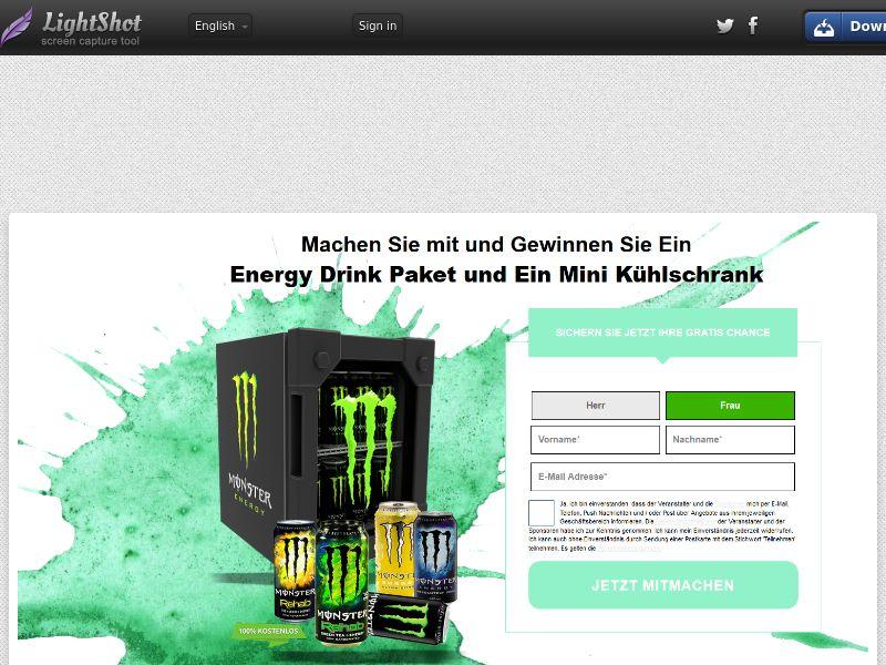 EnergyDrink Package - DE