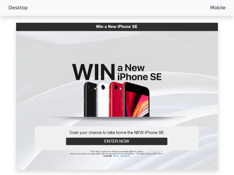 New iPhone SE - CPL/SOI - [MY]