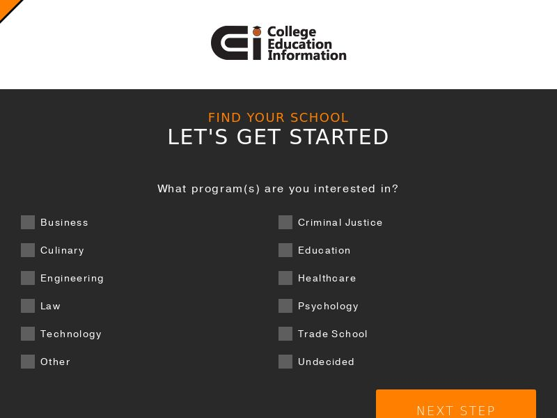 CollegeInfo - (Social) - Non Grant