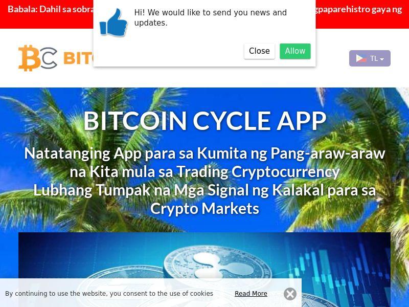 Bitcoin Cycles Filipino 3422