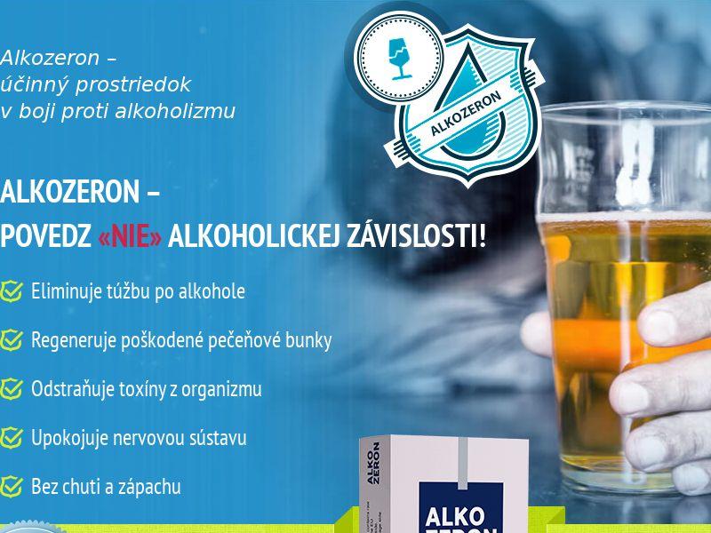 Alkozeron SK - alcoholism treatment product