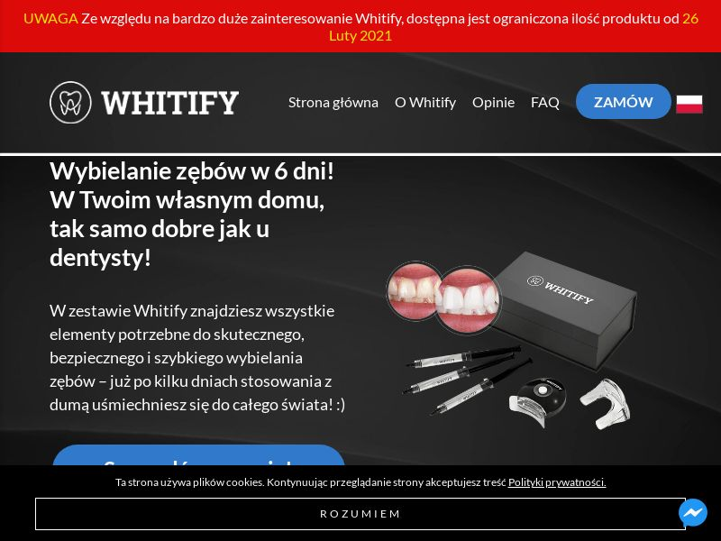 Whitify - PL (PL), [CPS], Health and Beauty, Cosmetics, Sell, coronavirus, corona, virus, keto, diet, weight, fitness, face mask
