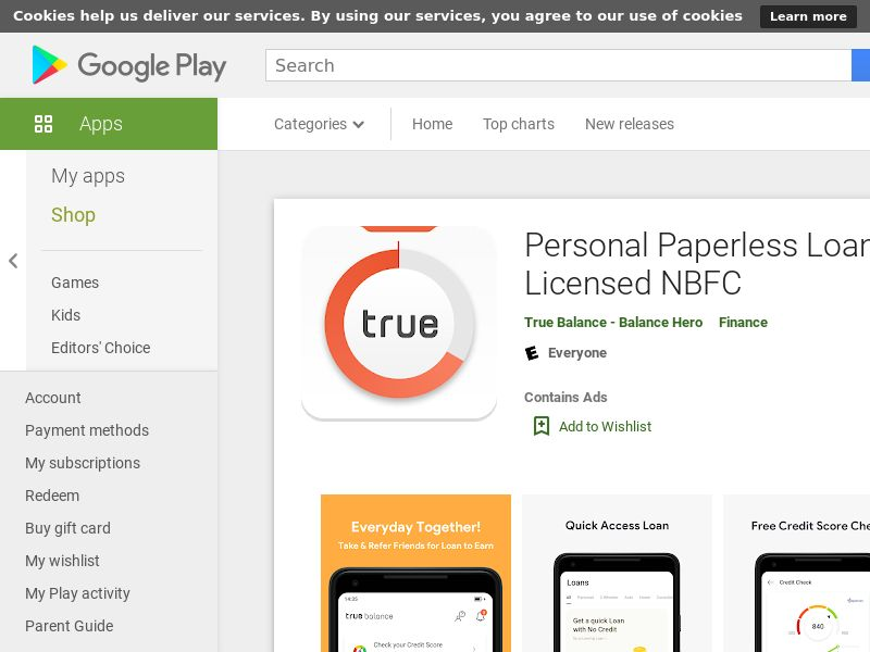 Personal Paperless Loan App  With Licensed NBFC