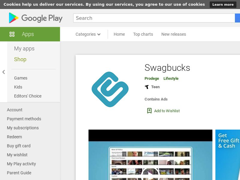 Swagbucks - Android - INCENT - US