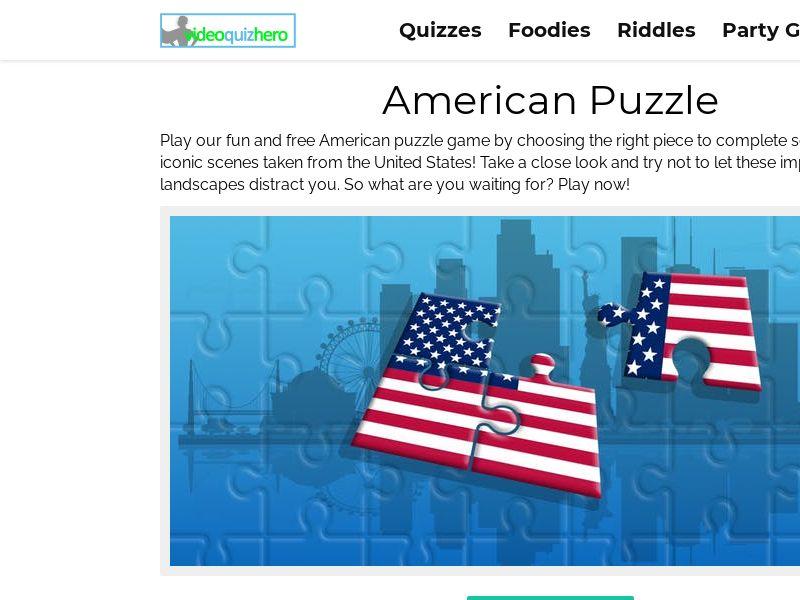 American Puzzle! Quiz (Mobile)
