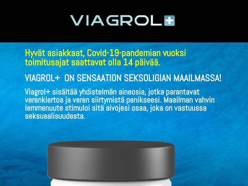 Viagrol - Male Enhancement [FI] (Email,Native,Social,Banner,Search) - CPA {Email Proof Required}