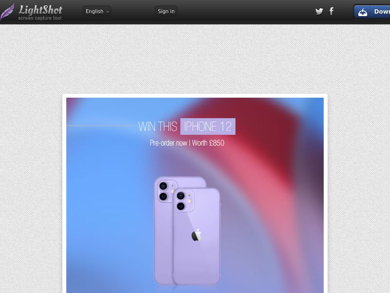 iPhone Purple (UK) (Personal Approval)