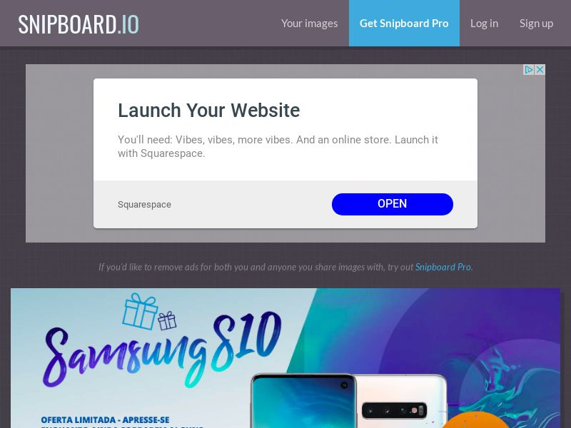 SteadyBusiness - Samsung Galaxy S10 LP15 PT - CC Submit
