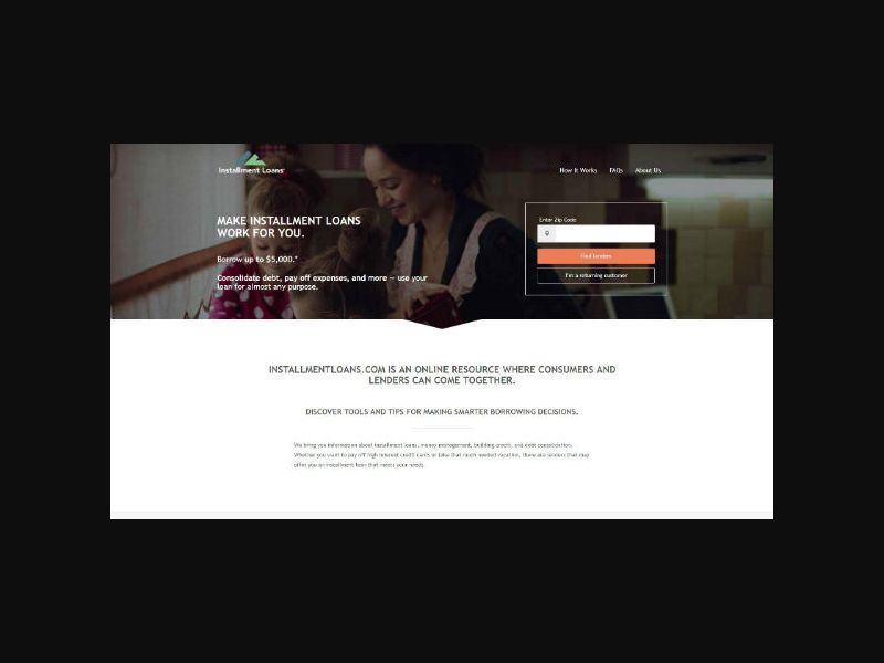 InstallmentLoans.com (US) Revshare