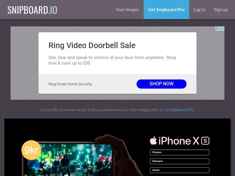 BigEntry - iPhone XS v3 SE - CC Submit
