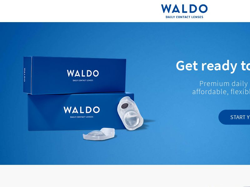 Waldo Contacts - Free Trial - UK
