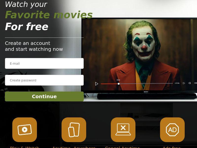 12510) [WEB+WAP] Joker Streaming - AU - CPA cc submit