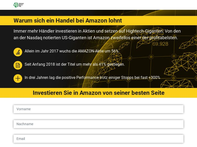 Trading Broker Pro (Amazon Yelloworld) - DE AT CH