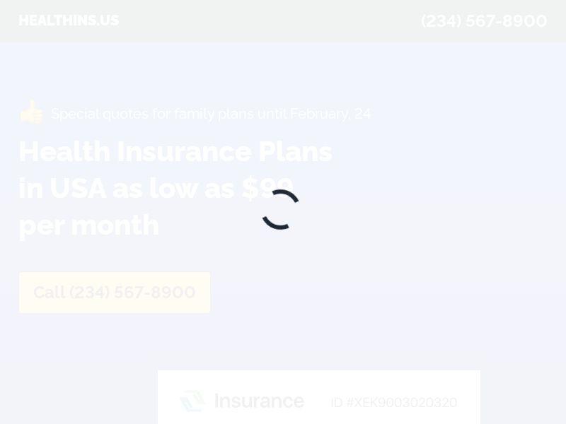 Health Insurance U65 | 90sec | Inbounds | US