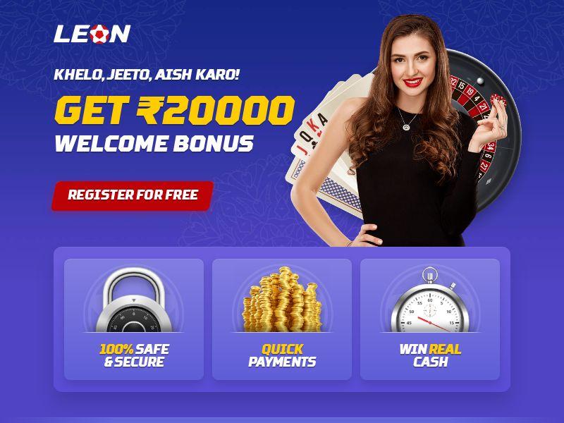 Leonbet.in Casino CPA - India