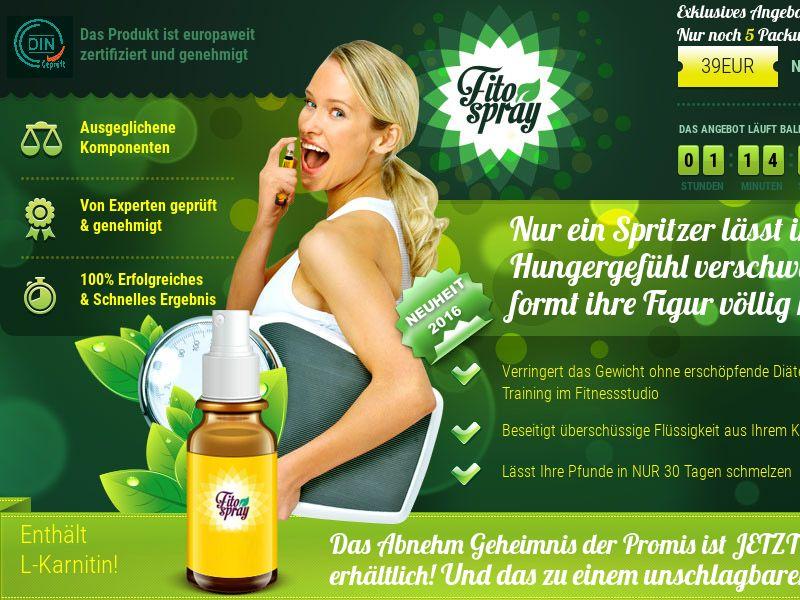 Fitospray AT - weight loss spray